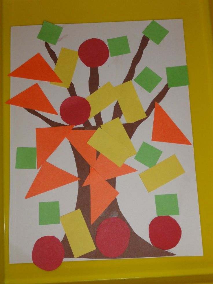 Triangle Painting Craft For Preschool